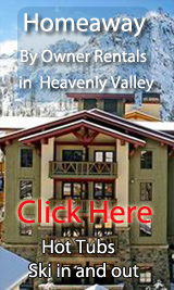 ski in out by owner vacation rentals in heavenly valley ski resort
