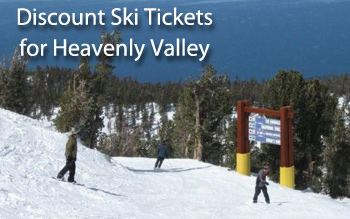 heavenly valley ski resort discount ski tickets and by owner lodging